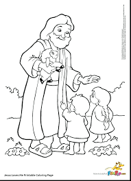 Jesus Loves Me Coloring Page Printable Free Coloring Pages