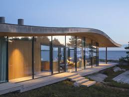 Modern Sea Front Summer Glass House In Finland | iDesignArch ...