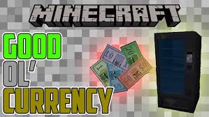 How To Make Vending Machine In Minecraft Pe Gorgeous Currency Mod 4848484848484848 Economy With Colourful Bills