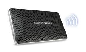 harman kardon mini esquire. its conveniently compact size \u2013 until you hear it. big, big sound in a small-sized speaker? harman kardon engineering expertise does it again. mini esquire r