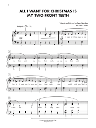 all i want for christmas is my two front teeth sheet music preview christmas hits for teens 1 3 value pack by dan coates ap