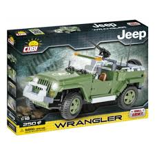 <b>Конструктор COBI</b> 24260 Военный <b>Jeep Wrangler</b> (Джип Вранглер)