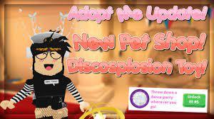 I don't approve of your behavior. Adopt Me New Discosplosion Item Pet Shop Update Secret Door Youtube