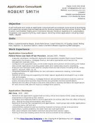 Sample Traders Resume Application Consultant Resume Samples Qwikresume