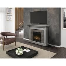 dimplex madison electric fireplace gds28l8 1968sg 5118 btu with logs firebox stone grey only