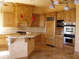 Rustic Kitchen Floor Tiles Kitchen Floor Ideas With Pine Cabinets White Gloss Island With