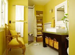 Yellow bathroom color ideas Gray By Ena Russ Last Updated 25102016 Lushome 25 Modern Bathroom Ideas Adding Sunny Yellow Accents To Bathroom Design