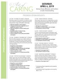 Event Programs Art Of Caring