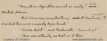 sherlock holmes hound baskervilles comparison contrast the hound of the baskervilles essay sample
