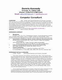 Sap Bi Sample Resume For 2 Years Experience Sap Crm Functional Consultant Resume Sample Elegant Sap Bi Sample 20