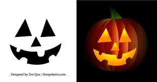 pumpkin carving patterns free easy halloween carving templates easy pumpkin stencils for halloween