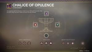 Where To Get Imperials And The Order To Upgrade Your Chalice