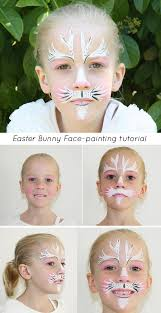 Small Picture Easter bunny face paint tutorial Mouths of Mums