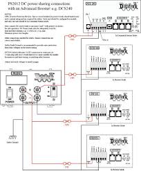 kb1046 powering the dcs240 the diagram notes a number of important points to ensure a safe and reliable installation the ps2012 output current capacity exceeds most boosters