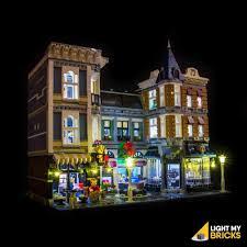 Parisian Restaurant Lighting Kit Lego Lights Lighting Kits Free Shipping Light My Bricks Au