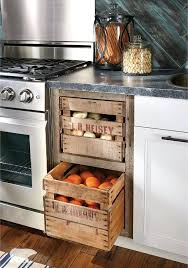 vegetable bins for kitchen remodeling your kitchen and want a farmhouse look use a washed out
