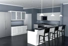 B Interior Paint Design Ideas Pendant Lights Over The Kitchen Island  For Wall