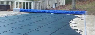 winter pool covers. Automatic And Winter Mesh Pool Covers N