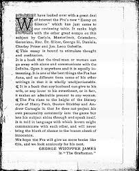 roycroft essay on silence advertisement