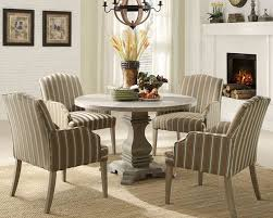Chicago Furniture for Euro Casual Dining Set with Pedestal Round Table