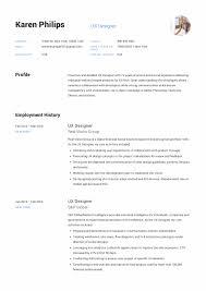 12 Ux Designer Resume Sample S Resumevikingcom 2019 Designs