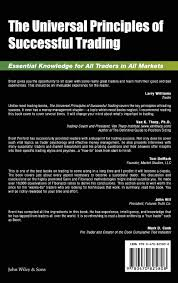 The Universal Principles Of Successful Trading Essential