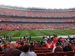 Cleveland Browns Stadium Seating Chart View Firstenergy Stadium Section 106 Home Of Cleveland Browns