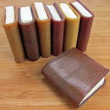 fruit leather edible school books