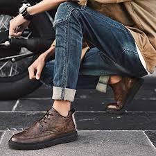 PU Leather <b>Shoes</b> Casual <b>Shoes Men's Shoes Winter</b> Warm <b>Cotton</b> ...