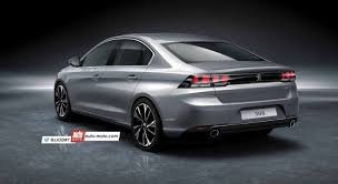 2018 peugeot 508. delighful 2018 2018 peugeot 508 rear three quarters left side rendering and peugeot 1