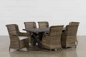 outdoor dining table and chairs. Outdoor Tortuga 7 Piece Dining Set W/Aventura Side Chair Outdoor Dining Table And Chairs T