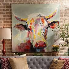 b the cow canvas art kirkland s