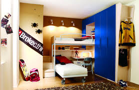 Kids Bedroom Design Boys Bedroom Charming Interior Design With Blue Furry Rug And Orange