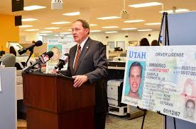 To Driver's Official Enhance Security - Introduces Utah Gary Blog New Governor State Herbert License For R