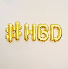 Happy Birthday Balloons Banner Hbd Balloon Banner Happy Bday Banner Happy Birthday Happy Etsy