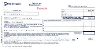 8 Checking Deposit Slip Template Bank Withdrawal C Constructor – Rigaud