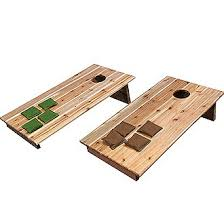 Wooden Bean Bag Toss Game Gronomics Bean Bag Toss Game Board Set Reviews Wayfair 22