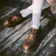 teahoo vintage genuine leather oxford shoes for women british style lace up round toe women oxfords brogues flat shoes size 9 10 women shoes boots for men