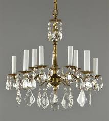 brass crystal chandelier made in spain brass crystal chandelier with regard to stylish property crystal chandelier