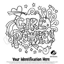 Girl Scouts Coloring Pages Coloring Pages Pinterest Girl