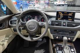audi a7 2016 interior. Interesting Interior BRUSSELS  JAN 12 2016 Interior Of The Audi A7 On Display At Intended 2016 E
