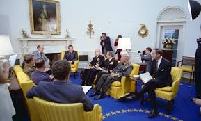 nixon oval office. president nixon and his advisors meeting in the oval office