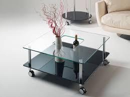 Tavoli Di Vetro Da Salotto : Tavolino marte cm copertina in vetro curvo