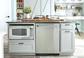 kitchen island with microwave kitchen island microwave kitchen island with built in microwave and dishwasher kitchen