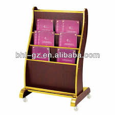 newspaper rack for office. High Quality 3-tier Wooden Information Rack Magazine Newspaper For Hotel Restaurant Office R