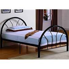 metal twin platform bed. Simple Twin Roundhill Furniture Belledica Metal Bed Set With Headboard Black Twin With Platform