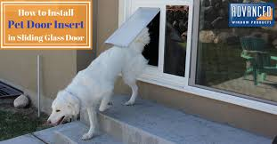 install pet door diy sliding glass