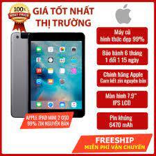 Máy tính bảng Apple iPad Mini 2 16Gb Wifi Zin nguyên bản, máy qua sử dụng giá  rẻ - Học online, xem youtube