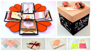 explosion gift box for your boyfriend girlfriend valentine s day gift ideas for him her you