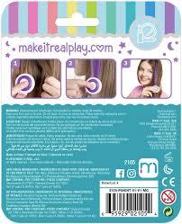 Make It Real Kreativní Set Tetování Křída Na Vlasy Různé Druhy